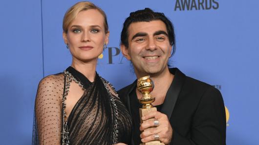 Glücklicher Gewinner: Fatih Akin mit seiner Hauptdarstellerin Diane Kruger
