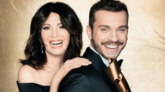 Glamour-Duo: Iris Berben und Edin Hasanovic