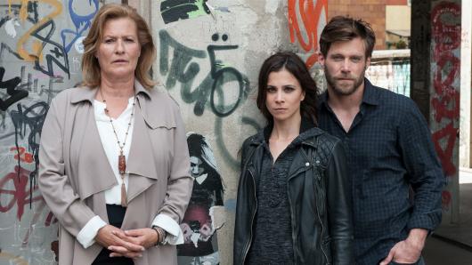 Suzanne von Borsody, Aylin Tezel und Ken Duken in Berlin