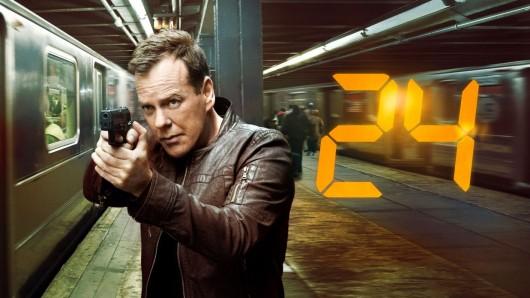 Das 24-Original: Kiefer Sutherland in seiner Paraderolle als Spezialagent Jack Bauer