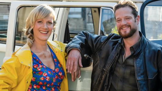 TV-Ermittler mit Biss: Anna Schudt und Aurel Manthei in der Mordshunger-Folge Wilder Westen (2015)