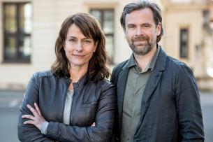 Partner nur für zwei Jahre: Claudia Michelsen als Hauptkommissarin Doreen Brasch und Matthias Matschke als Hauptkommissar Dirk Köhler