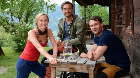 Johanna von Gutzeit, Daniel Gawlowski und Daniel Fritz (v.l.)