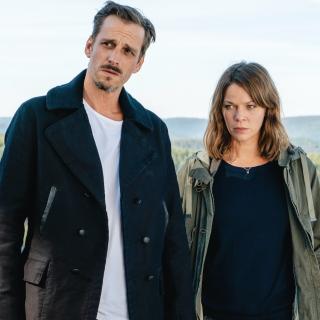 Maris Bächle (Jessica Schwarz) und ihr Kollege Konrad Diener (Max von Thun)