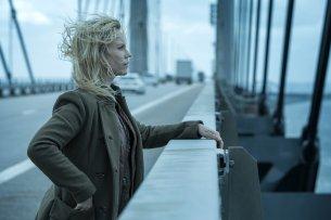 """Kommissarin Saga (Sofia Helin) ermittelt in der neuen Staffel der Erfolgsserie """"Die Brücke"""" zum vierten Mal am Öresund."""