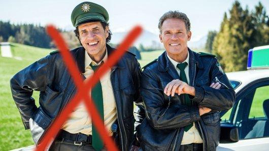 In der Serien-Fortsetzung Hubert ohne Staller muss Hubert (Christian Tramitz, r.) ohne seinen Kollegen Staller (Helmfried von Lüttichau) auskommen.