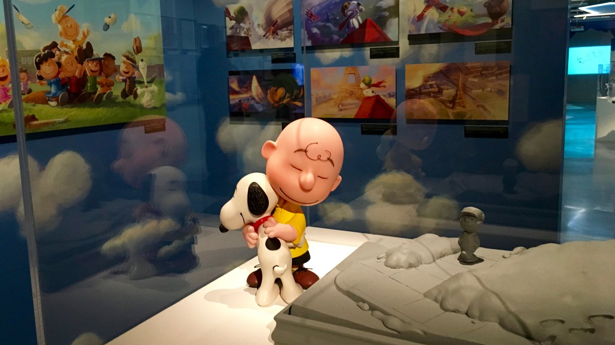 """Auch das Making-Of von """"Peanuts – Der Snoopy und Charlie Brown Film"""" zeigt das Art Ludique Museum in Paris"""