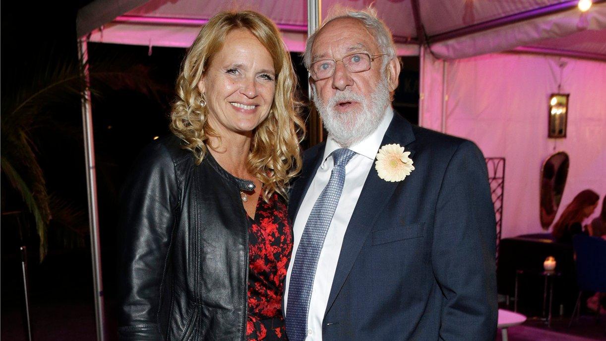 GOKA-Preisträger Dieter Hallervorden und Lebensgefährtin Christiane Zander genossen den Abend