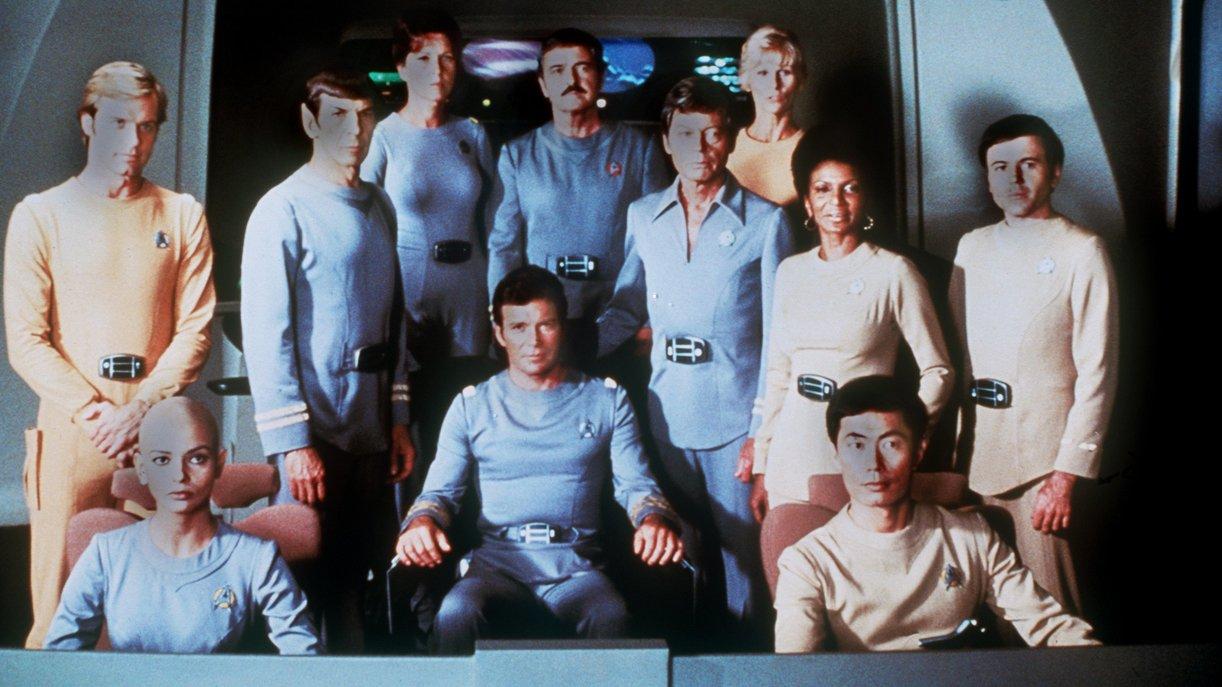 """Die Besatzung des Raumschiffes Enterprise im Kinofilm """"Star Trek - Der Film"""""""