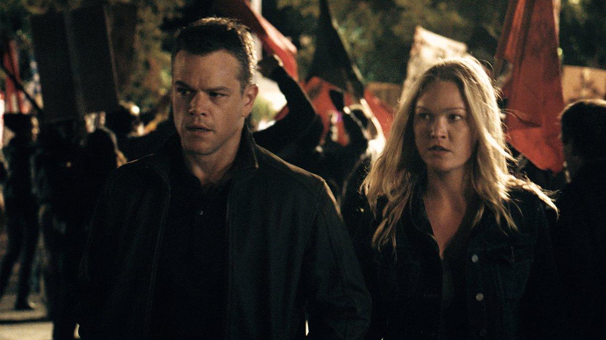Jason Bourne (Matt Damon) und seine Verbündete Nicky Parsons (Julia Stiles)
