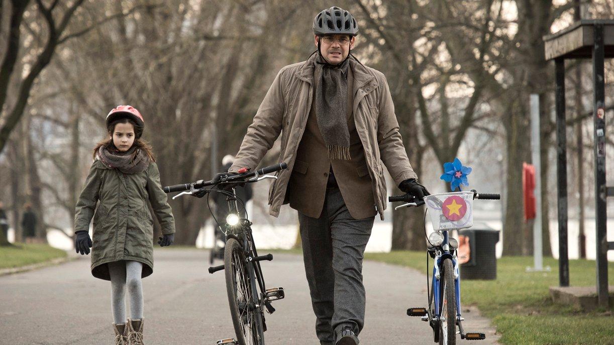 Sven Habdank (Alexander Beyer) und seine Tochter Anna (Julie-Helena) müssen jetzt alleine klarkommen.