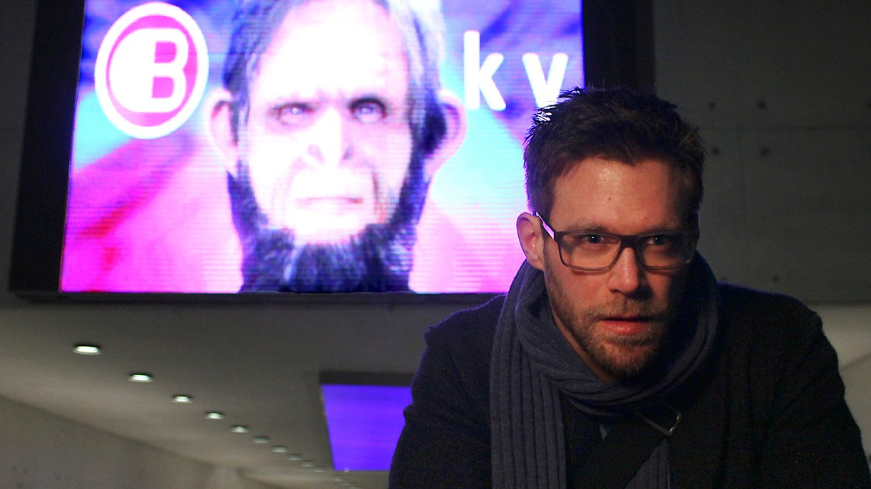 """Tatort: HAL"": Dr. David Bogmann (Ken Duken) ist Data Scientist bei der Firma Bluesky."