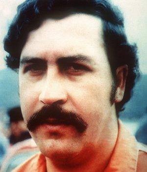 Fotografie vom berüchtigten Drogenboss Pablo Escobar.