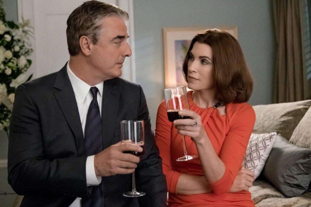 """Stand by your man? Im Serienfinale wird sich endgültig zeigen, ob """"The Good Wife"""" Alicia (Julianna Margulies) zu ihrem Ehemann Peter (Chris North) hält."""