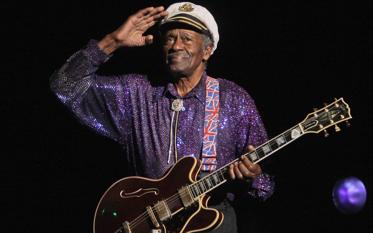 Bis zuletzt mit Rock'n'Roll auf Tour: Chuck Berry (18. 10. 1926 bis 18. 3. 2017)