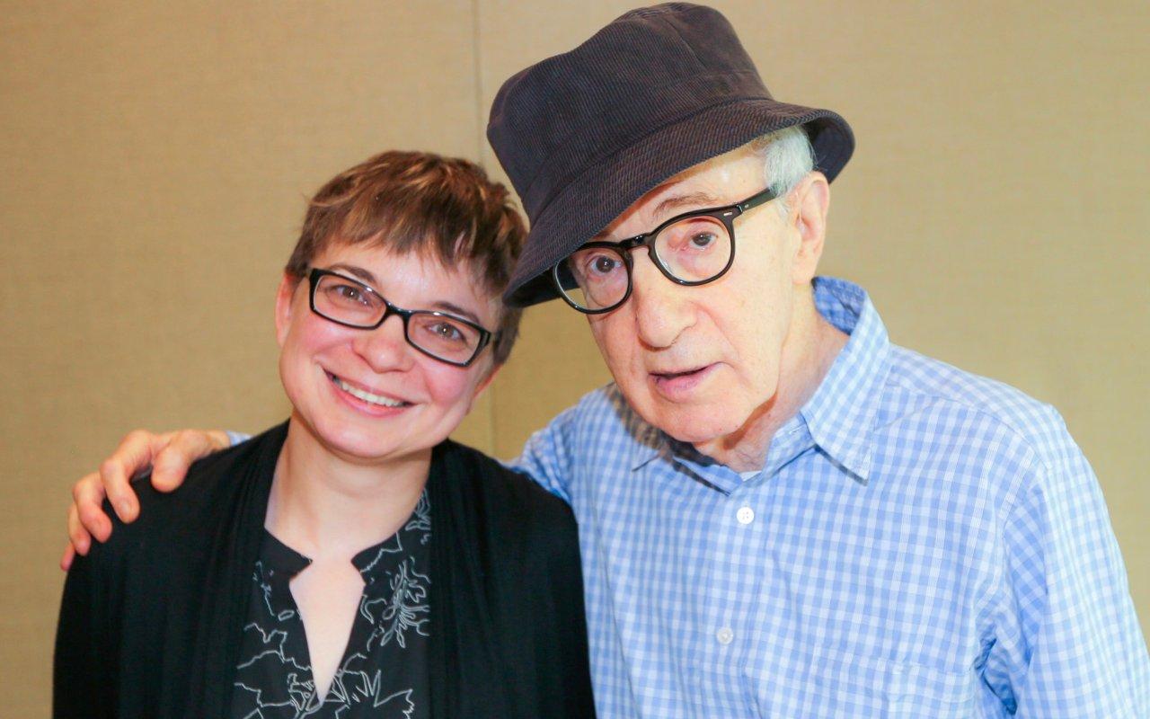 """Crisis in Six Scenes""-Mastermind Woody Allen und GOKA-Reporterin Anke Hofmann"
