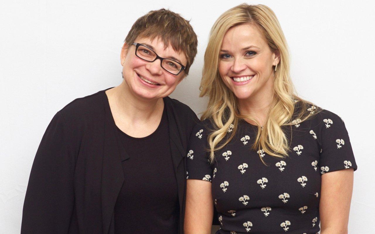 Reese Witherspoon und GOLDENE KAMERA-Korrespondentin Anke Hofmann