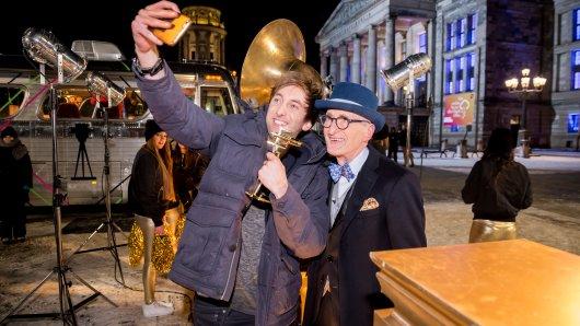 Selfie Freshtorge und Günther Krabbenhöft