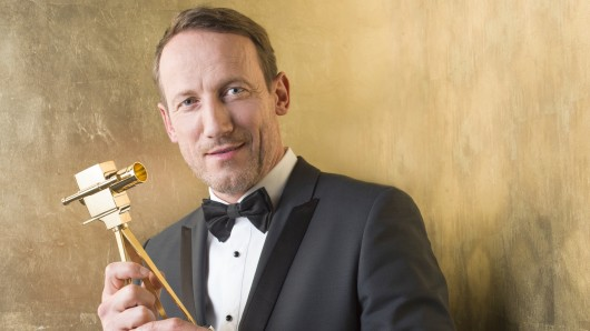 50 Jahre jung und GOLDENE KAMERA-Preisträger 2017 in der Kategorie Bester deutscher Schauspieler: Wotan Wilke Möhring