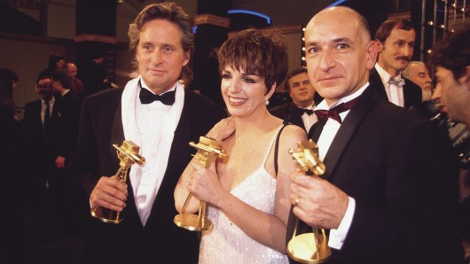 Preisträger 1990: Michael Douglas, Liza Minelli, Ben Kingsley
