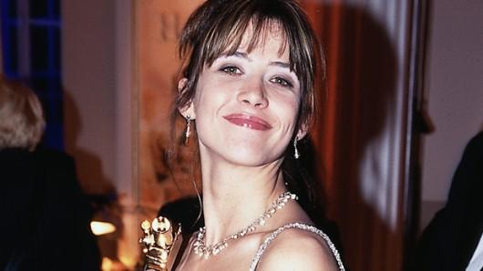 Sophie Marceau wird bei der GOLDENEN KAMERA 2000 als beste Schauspielerin international geehrt