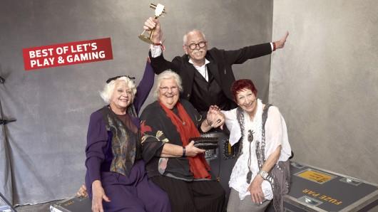 Im vergangenen Jahr gewannen Senioren Zocken in der Kategorie Best of Let's Play & Gaming.
