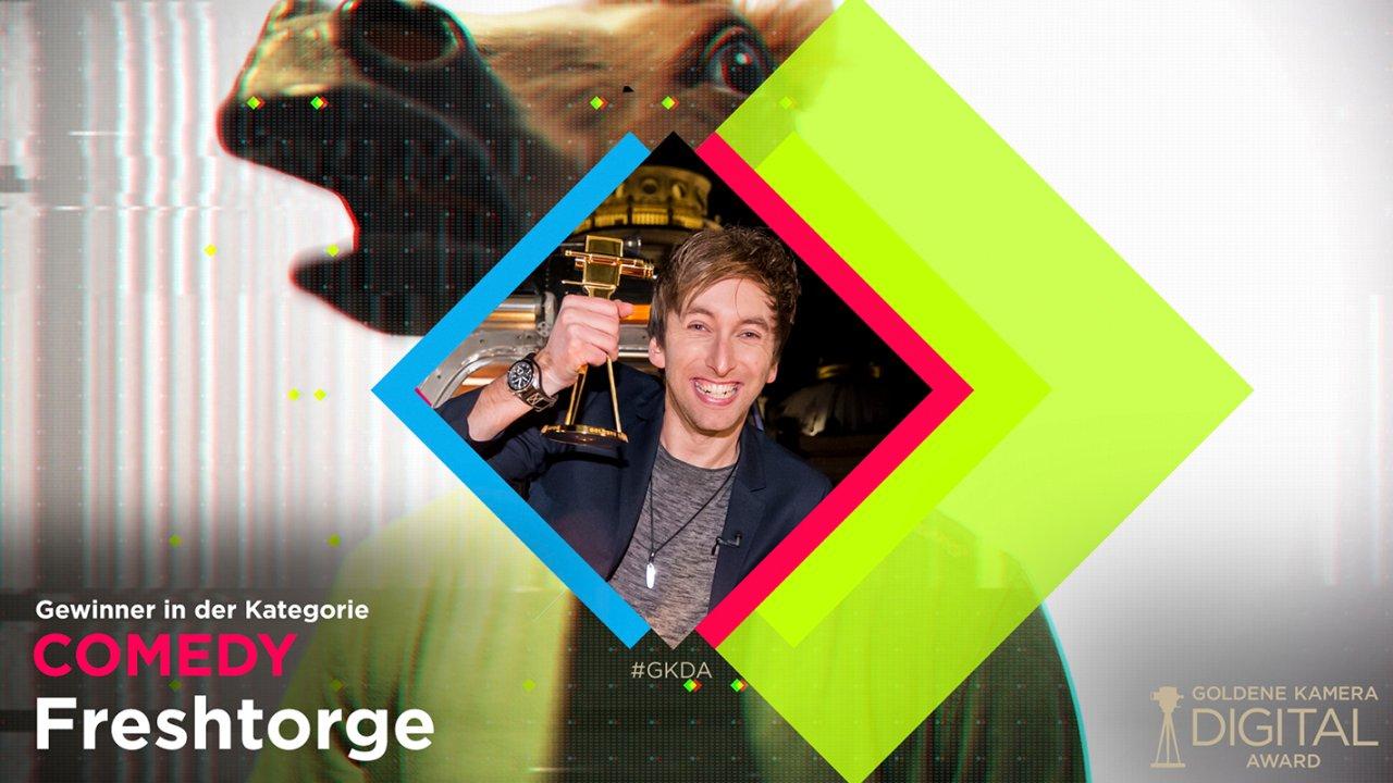 Die #GKDA-Jury hat entschieden: Freshtorge ist der beste Netz-Comedian 2017.