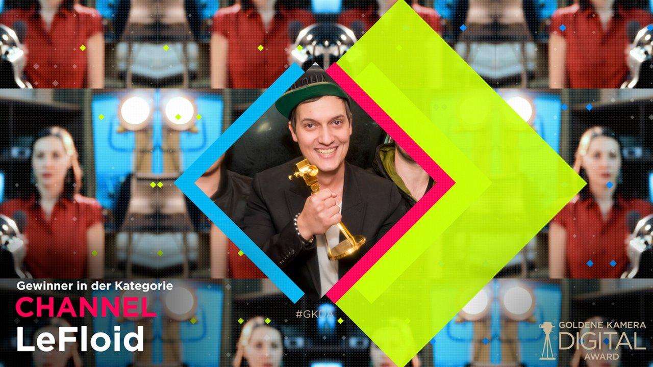 LeFloid ist der Gewinner 2017 in der Kategorie #CHANNEL
