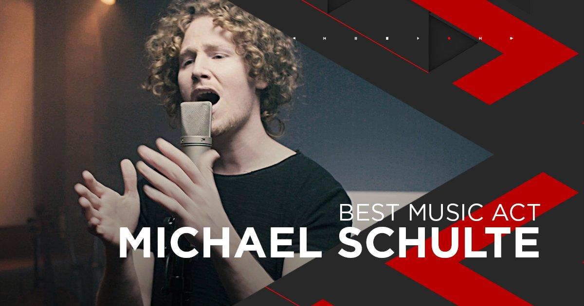 Nominiert als Best Music Act: Michael Schulte