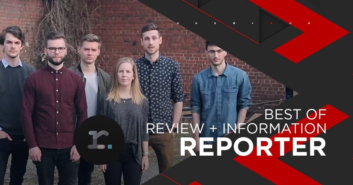 Nominiert für Review + Infomation: reporter