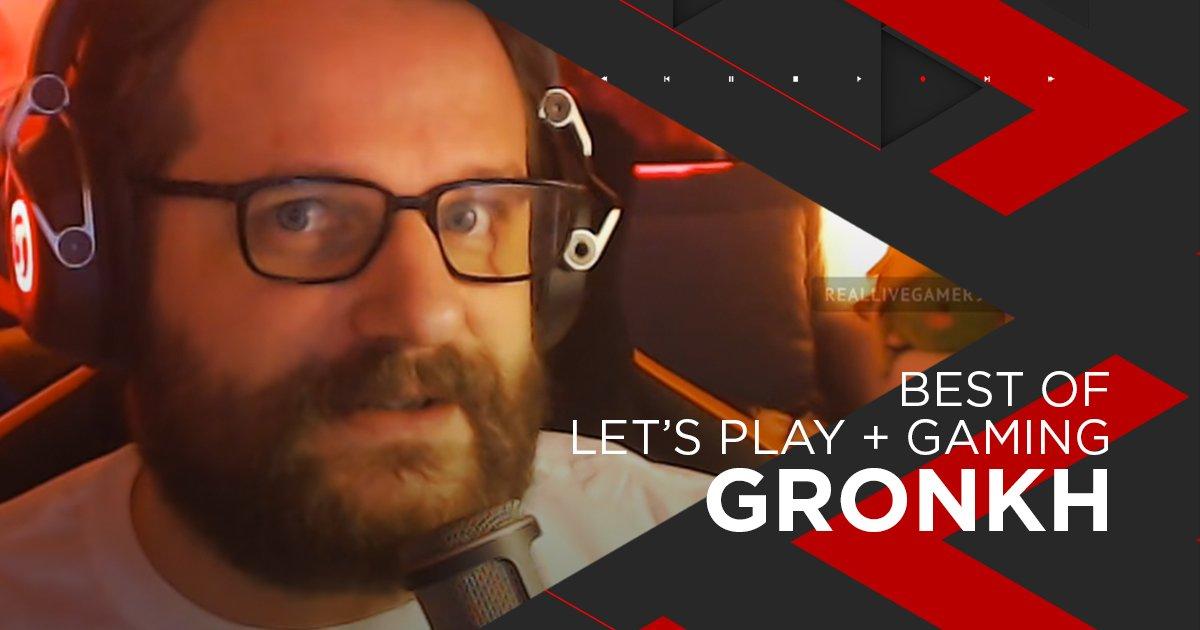 Nominiert für Lets's play + Gaming: Gronkh