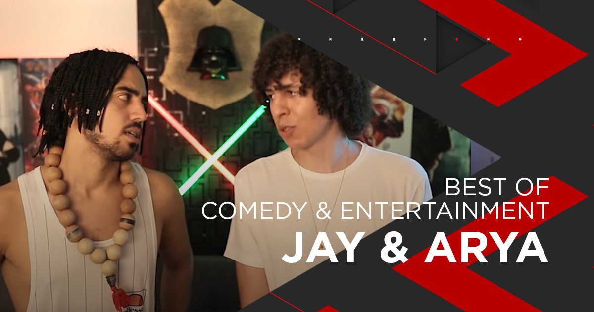 Nominiert für Comedy + Entertainment: Jay & Arya
