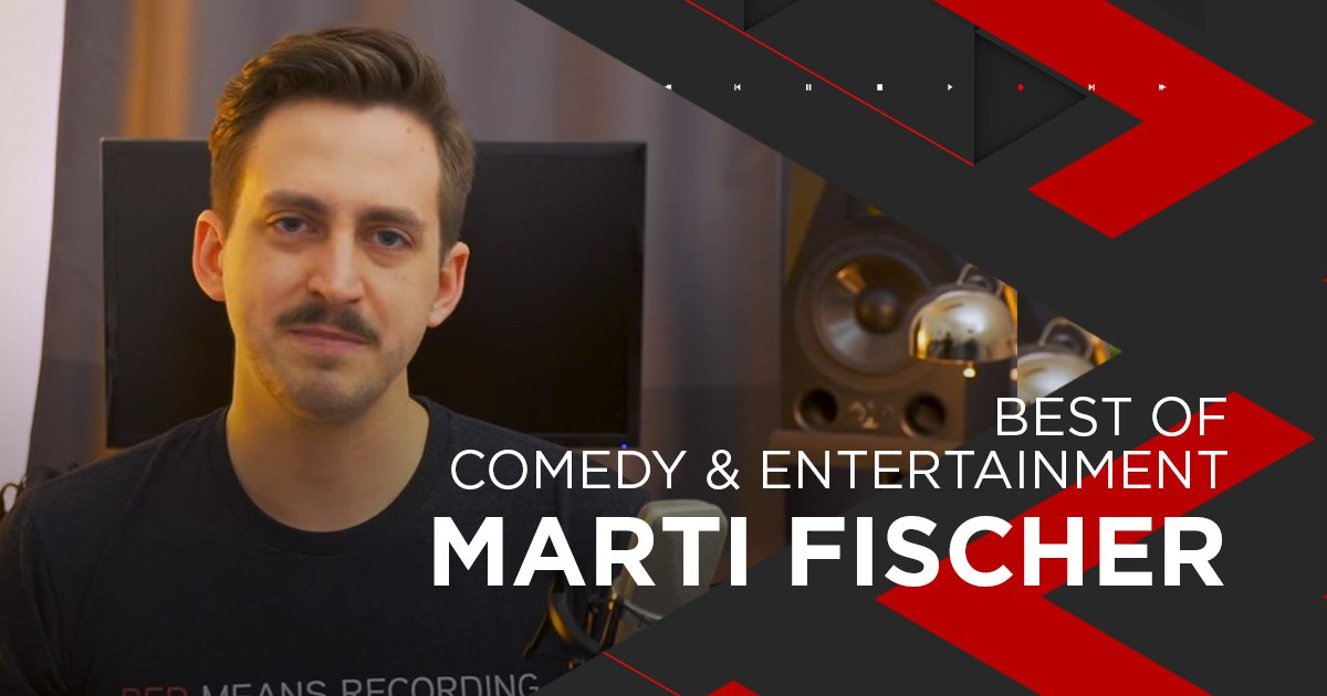 Nominiert für Comedy + Entertainment: Marti Fischer