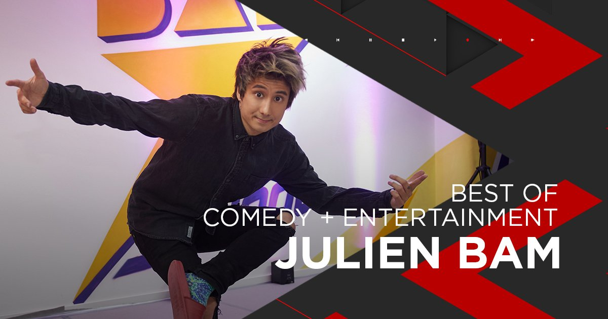 Nominiert für Comedy + Entertainment: Julien Bam