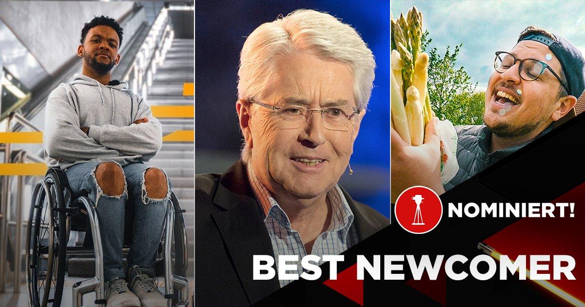 "Leeroy Matata, Frank Elstner und Andong Leeroy Matata sind nominiert in der Kategorie ""Best Newcomer"""