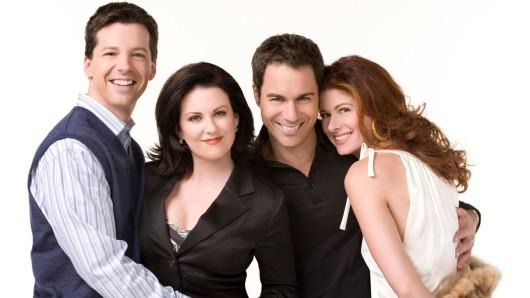 Nach 11 Jahren wieder vereint: das Will & Grace-Ensemble Sean Hayes, Megan Mullally, Eric McCormack und Debra Messing (v.l.n.r.)