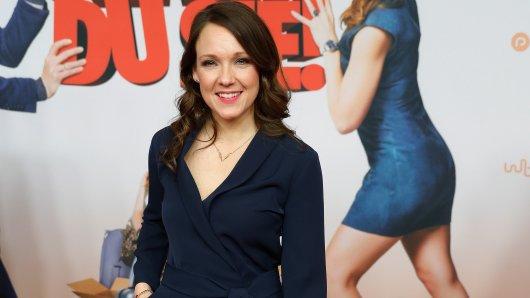 Jury-Mitglied und Leinwandstar in spe: TV-Comedienne Carolin Kebekus (36) bei der Premiere ihres Films Schatz, nimm Du sie!