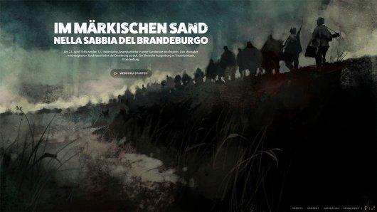 Die Webdoku Im Märkischen Sand von Katalin Ambrus, Nina Mair und Matthias Neumann wurde mit dem GOLDENE KAMERA Digital Award 2017 ausgezeichnet.