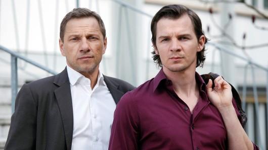 Seit 2008 als Stuttgarter Tatort-Duo im Einsatz: Richy Müller (l.) als Hauptkommissar Thorsten Lannert und Felix Klare als Hauptkommissar Sebastian Bootz