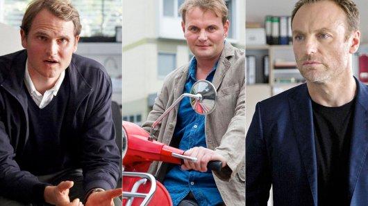 Fabian Hinrichs, Devid Striesow und Mark Waschke spielen gemeinsam Endzeitdrama 8 Tage