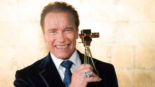 Arnold Schwarzenegger erhielt 2015 die GOLDENE KAMERA für sein Lebenswerk.