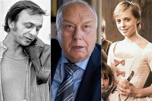 Drei populäre Schauspieler mit DDR-Vergangenheit: Dieter Bellmann, Christian Thieme und Katharina Thalbach.