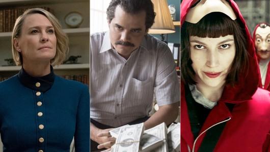 Die besten Netflix-Serien laut IMDb. (Stand: August 2018)