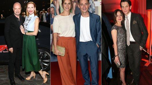 Prominente Paare, die schon gemeinsam Filme drehten: Christian Berkel mit Andrea Sawatzki, Miriam Stein und Volker Bruch, Alice Dwyer neben Sabin Tambrea. (v.l.)