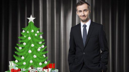 Weihnachtsbescherung mit Jan Böhmermann im ZDF.