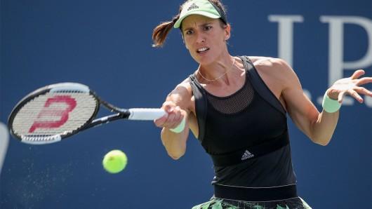 Andrea Petković im August 2019 bei den US-Open.