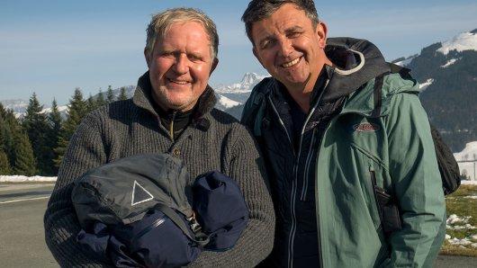 Rupert Althammer (Harald Krassnitzer) und Dr. Martin Gruber (Hans Sigl).