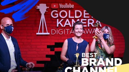 Bei der Userwahl zum Best Brand Channel beim #YTGKDA2020 erhielt der YouTube-Kanal von EDEKA yumtamtam die meisten Stimmen.