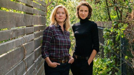 Kolleginnen - Das böse Kind: Irene Gaup (Caroline Peters), Julia Jungklausen (Natalia Belitski)