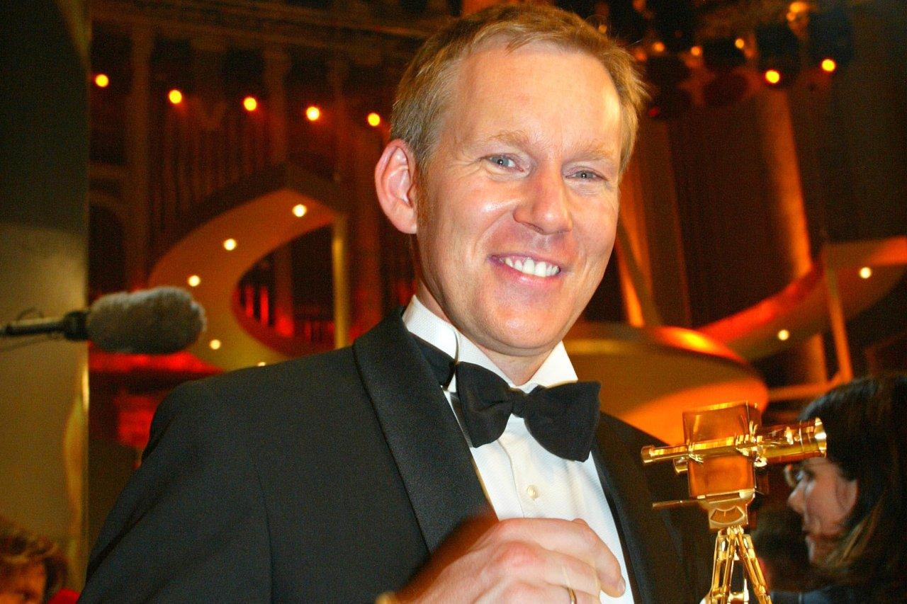 """""""Bester Talkshow-Moderator"""" 2003: Johannes B. Kerner und seine GOLDENE KAMERA"""